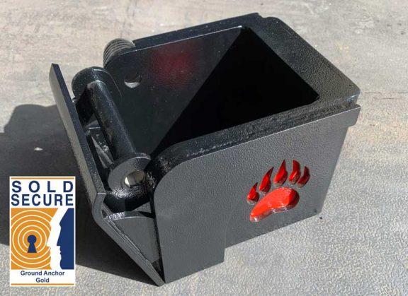 Small BEARTRAP TOOL BOX LOCK